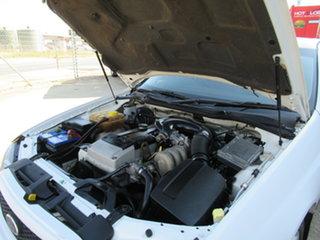 2003 Ford Falcon BA XT White 4 Speed Automatic Sedan