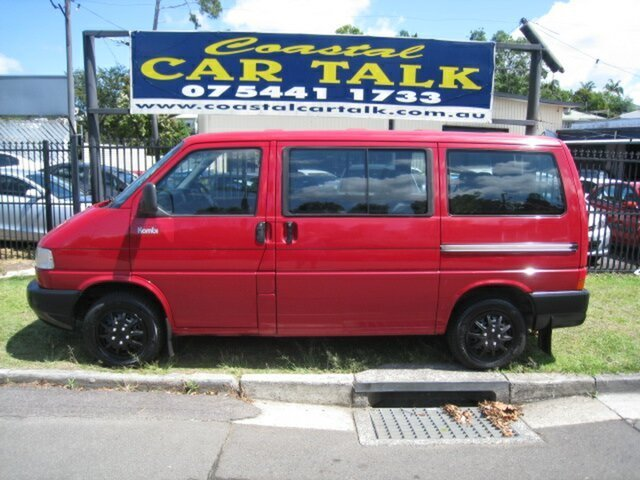 Used Volkswagen Kombi 70C Nambour, 2003 Volkswagen Kombi 70C Red 5 Speed Manual Van