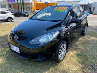 2008 Mazda 2 3 Door Hatch Black 5 Speed Manual Hatchback.