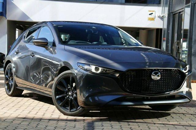 New Mazda 3 BP2HHA X20 SKYACTIV-Drive Astina Liverpool, 2020 Mazda 3 BP2HHA X20 SKYACTIV-Drive Astina Machine Grey 6 Speed Sports Automatic Hatchback