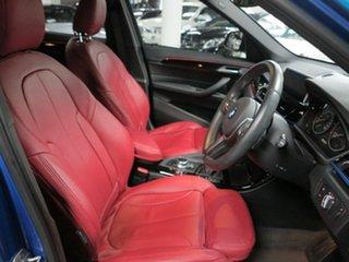 2017 BMW X1 F48 xDrive25i Steptronic AWD Blue 8 Speed Sports Automatic Wagon
