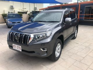 2019 Toyota Landcruiser Prado GDJ150R GXL Grey 6 Speed Sports Automatic Wagon.