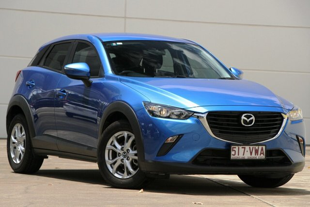 Used Mazda CX-3 DK2W76 Neo SKYACTIV-MT, 2015 Mazda CX-3 DK2W76 Neo SKYACTIV-MT Blue 6 Speed Manual Wagon