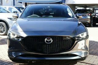 2020 Mazda 3 BP2HHA X20 SKYACTIV-Drive Astina Machine Grey 6 Speed Sports Automatic Hatchback
