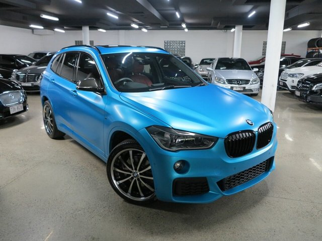 Used BMW X1 F48 xDrive25i Steptronic AWD Albion, 2017 BMW X1 F48 xDrive25i Steptronic AWD Blue 8 Speed Sports Automatic Wagon