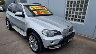 2009 BMW X5 E70 MY09 xDrive 35D Quartz Silver 6 Speed Auto Steptronic Wagon.