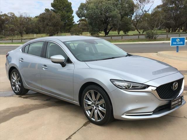 Demo Mazda 6 GL1033 GT SKYACTIV-Drive Berri, 2020 Mazda 6 GL1033 GT SKYACTIV-Drive Sonic Silver 6 Speed Sports Automatic Sedan