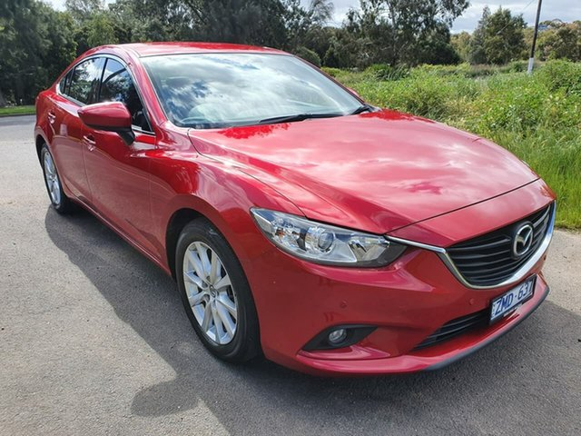 Used Mazda 6 GJ Touring, 2012 Mazda 6 GH Series 2 Touring Red Sports Automatic Sedan