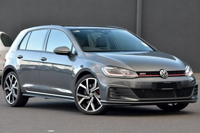 New Volkswagen Golf 7.5 MY20 GTI DSG, 2020 Volkswagen Golf 7.5 MY20 GTI DSG Grey 7 Speed Sports Automatic Dual Clutch Hatchback