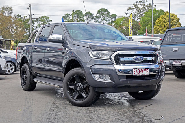 Used Ford Ranger PX MkII XLT Double Cab, 2016 Ford Ranger PX MkII XLT Double Cab Magnetic 6 Speed Manual Utility
