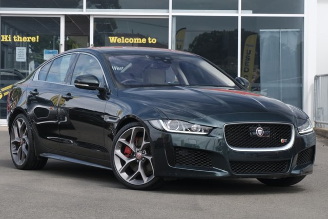 Used Jaguar XE X760 MY17 S Toowoomba, 2016 Jaguar XE X760 MY17 S Green 8 Speed Sports Automatic Sedan
