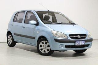 2008 Hyundai Getz TB Upgrade SX Blue 4 Speed Automatic Hatchback.