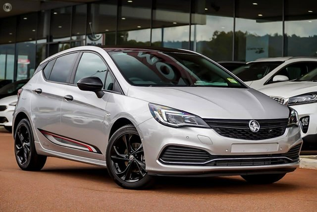 New Holden Astra BK MY19 RS Black Edition Essendon Fields, 2019 Holden Astra BK MY19 RS Black Edition Silver 6 Speed Sports Automatic Hatchback