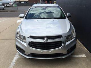 2016 Holden Cruze JH Series II MY16 Equipe Silver 6 Speed Sports Automatic Sedan.