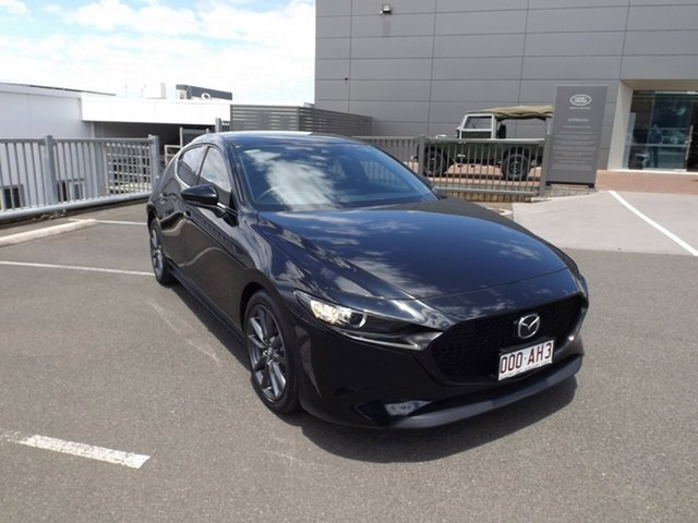 Used Mazda 3 BP2H7A G20 SKYACTIV-Drive Touring Toowoomba, 2019 Mazda 3 BP2H7A G20 SKYACTIV-Drive Touring Jet Black 6 Speed Sports Automatic Hatchback