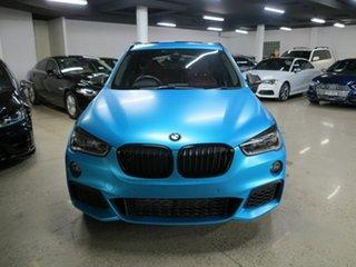 2017 BMW X1 F48 xDrive25i Steptronic AWD Blue 8 Speed Sports Automatic Wagon.