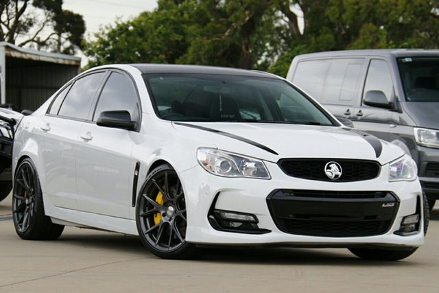 Used Holden Commodore VF II SS-V, 2015 Holden Commodore VF II SS-V White 6 Speed Automatic Sedan