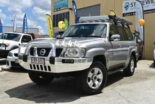 2006 Nissan Patrol GU IV ST (4x4) Silver 5 Speed Manual Wagon.