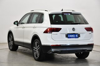 2019 Volkswagen Tiguan 5N MY19.5 162TSI DSG 4MOTION Highline Pure White 7 Speed