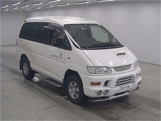 Used Mitsubishi Delica PD8W Leichhardt, 2000 Mitsubishi Delica PD8W White Automatic Van Wagon