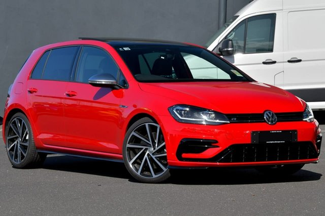Demo Volkswagen Golf 7.5 MY20 R DSG 4MOTION Moorabbin, 2020 Volkswagen Golf 7.5 MY20 R DSG 4MOTION Red 7 Speed Sports Automatic Dual Clutch Hatchback