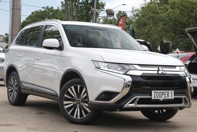 Used Mitsubishi Outlander ZL MY19 ES 2WD Toowoomba, 2019 Mitsubishi Outlander ZL MY19 ES 2WD White 6 Speed Constant Variable Wagon