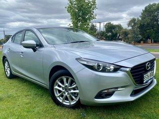 2017 Mazda 3 BN5278 Touring SKYACTIV-Drive Sonic Silver 6 Speed Sports Automatic Sedan.