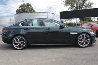 2016 Jaguar XE X760 MY17 S Green 8 Speed Sports Automatic Sedan.