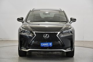 2017 Lexus NX AGZ15R NX200t AWD F Sport Graphite Black 6 Speed Sports Automatic Wagon.