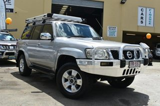 2006 Nissan Patrol GU IV ST (4x4) Silver 5 Speed Manual Wagon