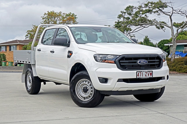 Used Ford Ranger PX MkIII 2020.25MY XL Hi-Rider, 2020 Ford Ranger PX MkIII 2020.25MY XL Hi-Rider White 6 Speed Sports Automatic Double Cab Chassis