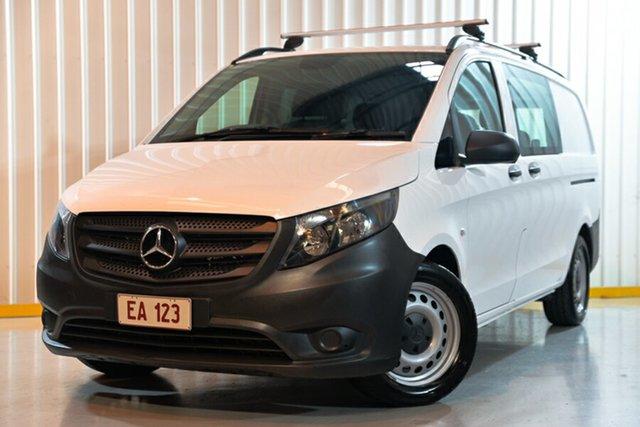 Used Mercedes-Benz Vito 447 119 BlueTEC LWB Hendra, 2017 Mercedes-Benz Vito 447 119 BlueTEC LWB White 7 Speed Automatic Van