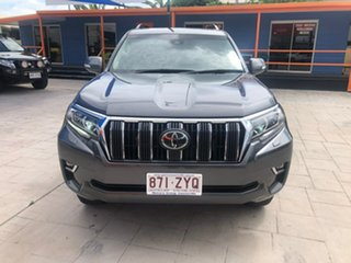 2019 Toyota Landcruiser Prado GDJ150R GXL Grey 6 Speed Sports Automatic Wagon