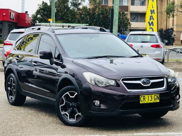 Used Subaru XV G4X MY12 2.0i-S Lineartronic AWD, 2012 Subaru XV G4X MY12 2.0i-S Lineartronic AWD Purple 6 Speed Constant Variable Wagon