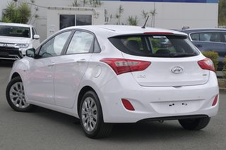2015 Hyundai i30 GD3 Series II MY16 Active DCT Polar White 7 Speed Sports Automatic Dual Clutch.