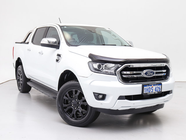 Used Ford Ranger PX MkIII MY19 XLT 3.2 (4x4), 2018 Ford Ranger PX MkIII MY19 XLT 3.2 (4x4) White 6 Speed Automatic Double Cab Pick Up