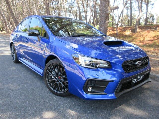 Demo Subaru WRX V1 MY20 Club Spec Lineartronic AWD Reynella, 2020 Subaru WRX V1 MY20 Club Spec Lineartronic AWD WR Blue Mica 8 Speed Constant Variable Sedan