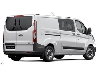 2020 Ford Transit Custom VN 2020.50MY 340L (Low Roof) White 6 Speed Automatic Double Cab Van