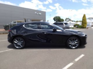 2019 Mazda 3 BP2H7A G20 SKYACTIV-Drive Touring Jet Black 6 Speed Sports Automatic Hatchback.