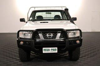 2013 Nissan Patrol GU 6 Series II DX White 5 speed Manual Cab Chassis.