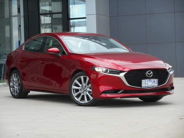Used Mazda 3 BP2S7A G20 SKYACTIV-Drive Touring Ravenhall, 2020 Mazda 3 BP2S7A G20 SKYACTIV-Drive Touring Red 6 Speed Sports Automatic Sedan
