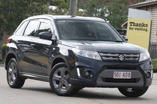 Used Suzuki Vitara LY RT-S 2WD Toowoomba, 2016 Suzuki Vitara LY RT-S 2WD Black 6 Speed Sports Automatic Wagon