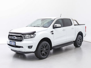 2018 Ford Ranger PX MkIII MY19 XLT 3.2 (4x4) White 6 Speed Automatic Double Cab Pick Up.