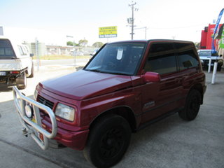 1996 Suzuki Vitara SE416C Type4 JX Red 5 Speed Manual Sedan.