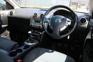 2013 Nissan Dualis J10 Series 3 ST (4x2) Black 6 Speed Manual Wagon