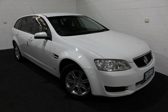 Used Holden Commodore VE MY10 Omega Sportwagon, 2010 Holden Commodore VE MY10 Omega Sportwagon Heron White 6 Speed Sports Automatic Wagon