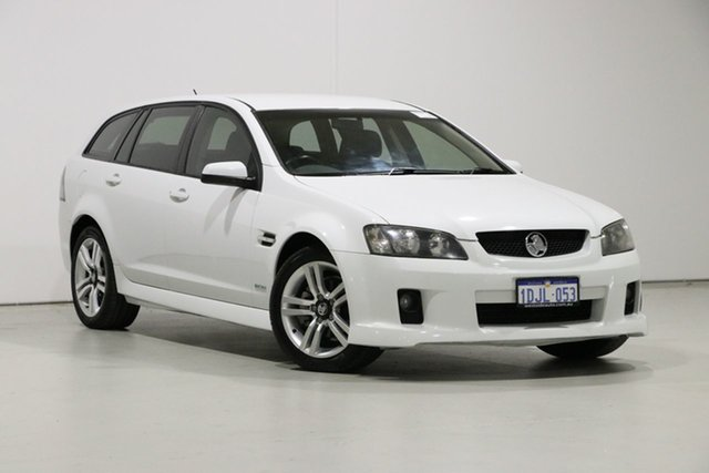 Used Holden Commodore VE MY10 SV6 Bentley, 2010 Holden Commodore VE MY10 SV6 White 6 Speed Automatic Sportswagon