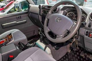 2017 Toyota Landcruiser VDJ79R GXL Grey 5 Speed Manual Cab Chassis