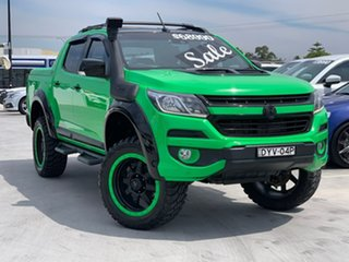 2016 Holden Colorado RG MY16 Z71 Crew Cab Green 6 Speed Sports Automatic Utility.