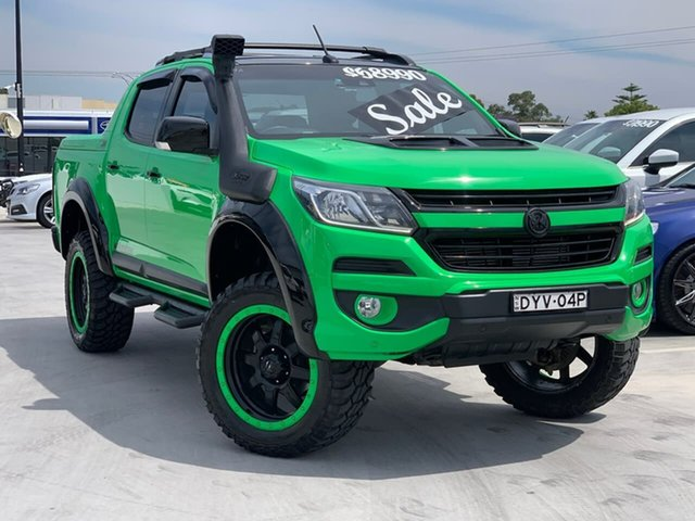 Used Holden Colorado RG MY16 Z71 Crew Cab Liverpool, 2016 Holden Colorado RG MY16 Z71 Crew Cab Green 6 Speed Sports Automatic Utility